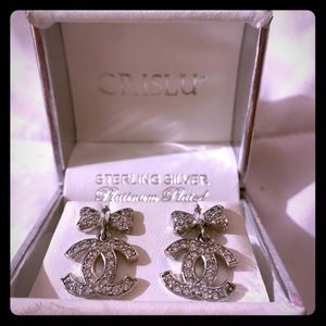 Chanel CC Earring Antique